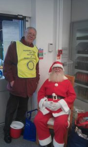 The 2015 Alford Co-op Christmas Collection with Santa and David Black