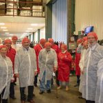 The Rotary Club of Alford and Mablethorpe Visit Fairburns Eggs