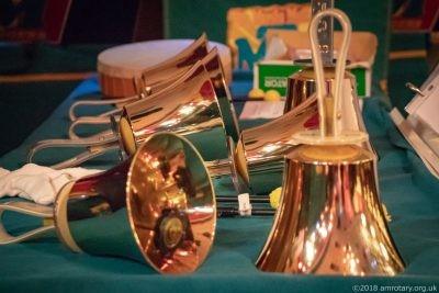 Mablethorpe Rotary Carol Concert 2018 Hand bells
