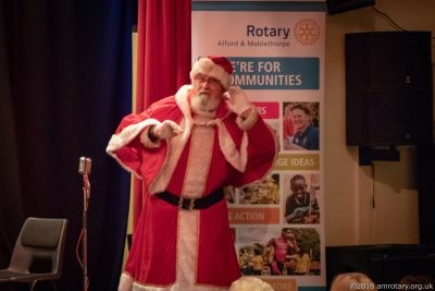 Mablethorpe Rotary Carol Concert 2018 Santa